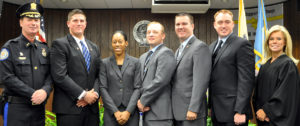 PUBLIC SAFETY – 5 new Hamilton Township Police Officers